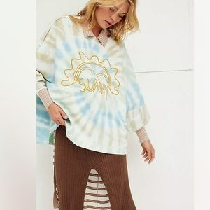 New Free People Long Strange Trip Pullover Top